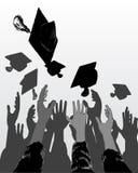 De dag van de graduatie Royalty-vrije Stock Foto's
