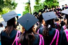 De dag van de graduatie stock afbeeldingen
