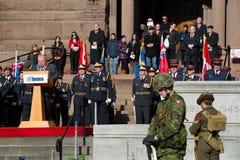 De Dag van de herinnering in Toronto Stock Fotografie