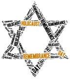 De dag van de holocaustherinnering royalty-vrije illustratie