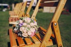 De dag van de huwelijkszon Royalty-vrije Stock Afbeelding
