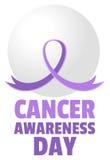 De Dag van de kankervoorlichting Royalty-vrije Stock Afbeeldingen