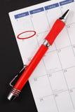 De Dag van de Nieuwjaren van de planning stock afbeeldingen