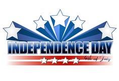 De dag van de onafhankelijkheid Royalty-vrije Stock Fotografie
