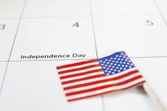 De Dag van de onafhankelijkheid Stock Afbeeldingen