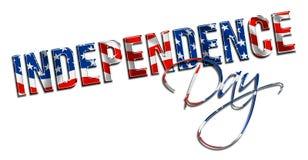 De Dag van de onafhankelijkheid royalty-vrije illustratie