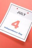 De Dag van de onafhankelijkheid Stock Afbeelding
