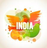 De Dag van de onafhankelijkheid van India vector illustratie