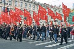 De Dag van de overwinning op 9 Mei, 2008 Royalty-vrije Stock Foto's
