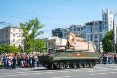 De Dag van de overwinning in Rusland Stock Afbeeldingen