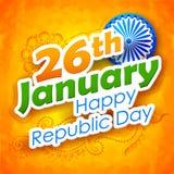 De Dag van de republiek van de achtergrond van India Stock Fotografie