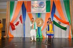 De Dag van de republiek van de vieringen van India Royalty-vrije Stock Foto
