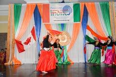 De Dag van de republiek van de vieringen van India Royalty-vrije Stock Afbeelding