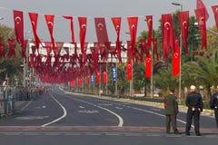 De Dag van de republiek van de Vieringen van Turkije Stock Afbeeldingen