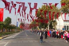 De Dag van de republiek van de Vieringen van Turkije Stock Fotografie