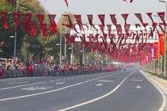De Dag van de republiek van de Vieringen van Turkije Stock Foto