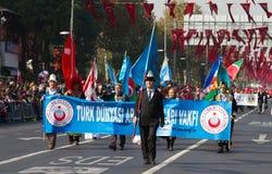 De Dag van de republiek van de Vieringen van Turkije Stock Afbeelding