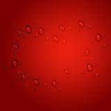 De Dag van de roze en Rode het Houden van Valentijnskaart Royalty-vrije Stock Foto