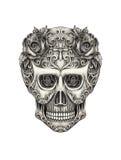 De dag van de schedelkunst van de doden Stock Foto's