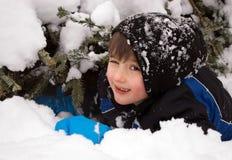 De dag van de sneeuw stock afbeeldingen