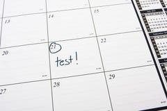 De Dag van de test Royalty-vrije Stock Afbeeldingen