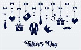De dag van de vader `s Stock Afbeelding