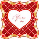 De dag van de Valentijnskaart. stock illustratie