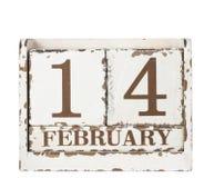 De Dag van de valentijnskaart. 14 februari. Stock Afbeelding