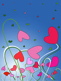 De Dag van de valentijnskaart Stock Afbeelding