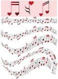 De dag van de valentijnskaart Royalty-vrije Stock Afbeeldingen