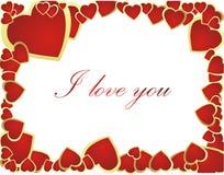 De Dag van de valentijnskaart Stock Foto's