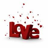 De dag van de valentijnskaart aan liefde Royalty-vrije Stock Fotografie
