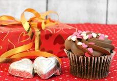 De Dag van de valentijnskaart behandelt Stock Afbeeldingen