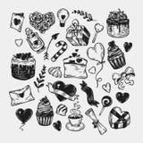 De dag van de valentijnskaart `s Royalty-vrije Stock Afbeeldingen