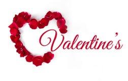 De dag van de valentijnskaart `s Stock Afbeeldingen