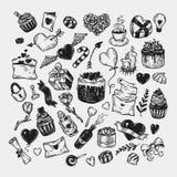 De dag van de valentijnskaart `s reeks Royalty-vrije Stock Afbeelding