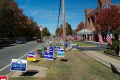 De Dag van de verkiezing Stock Foto's