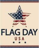 De Dag van de vlag Royalty-vrije Stock Afbeelding
