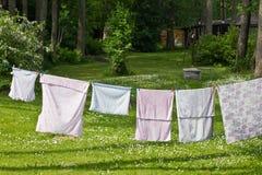 De Dag van de wasserij Stock Afbeeldingen