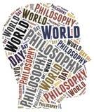 De dag van de wereldfilosofie Royalty-vrije Stock Fotografie