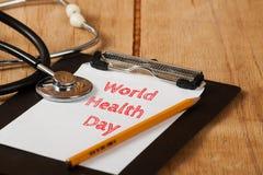 De Dag van de wereldgezondheid Royalty-vrije Stock Foto's