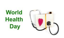 De Dag van de wereldgezondheid Stock Afbeelding