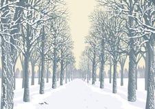 De dag van de winter Royalty-vrije Stock Afbeeldingen