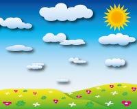 De dag van de zonneschijn Royalty-vrije Stock Afbeeldingen