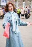 De dag van een bejaarde persoon in Rusland, een bejaarde stock foto's