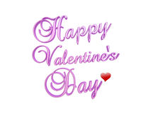 De dag van gelukkig Valentine stock afbeelding