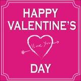De Dag van gelukkig Valentine vector illustratie