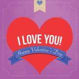De Dag van gelukkig Valentine royalty-vrije illustratie