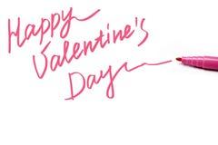De Dag van gelukkig Valentine Stock Foto's