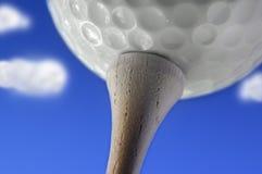 De dag van Golfing Stock Afbeeldingen